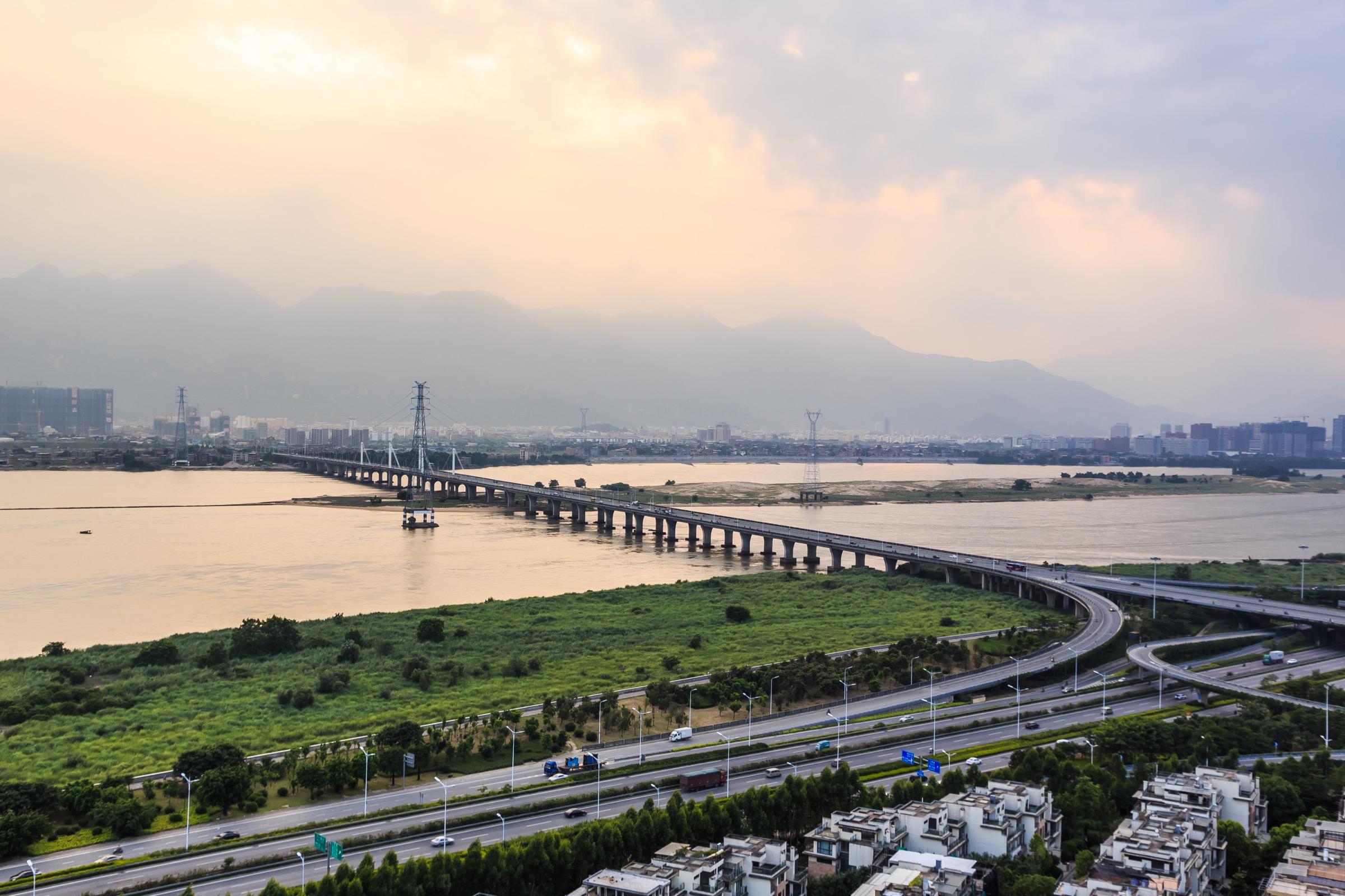 20140727 福州泰禾红树林 南面风景