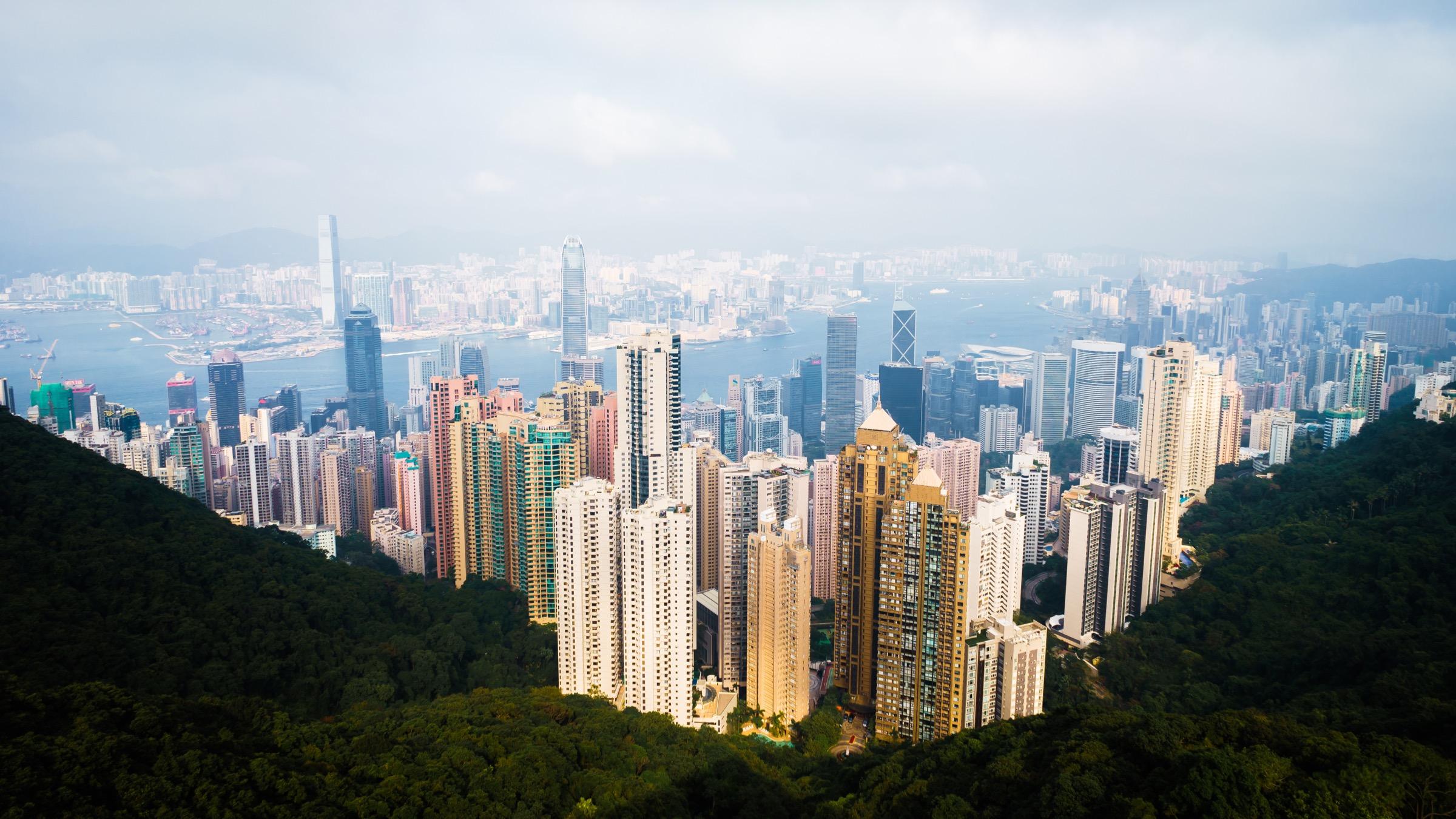 20160109 香港太平山顶