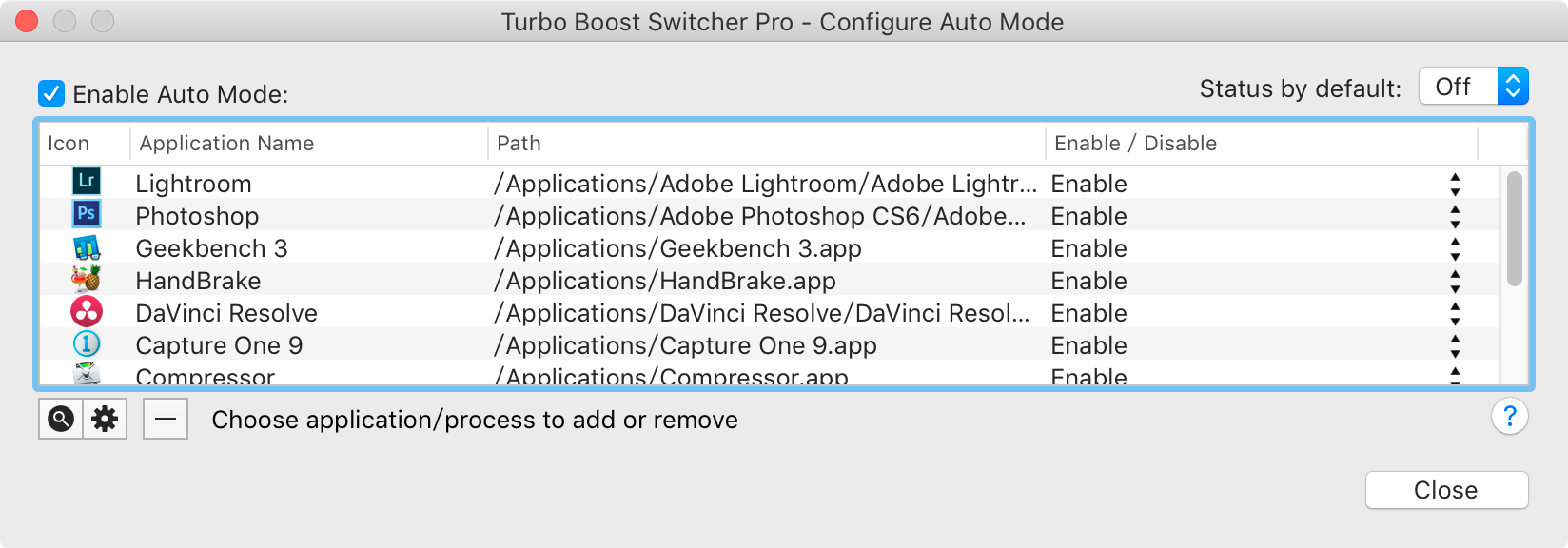 Turbo Boost Switcher 2 Auto Mode